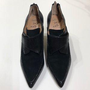 Banana Republic Shoes - BANANA REPUBLIC BLACK SOLE MATE PUMPS SIZE 7 M